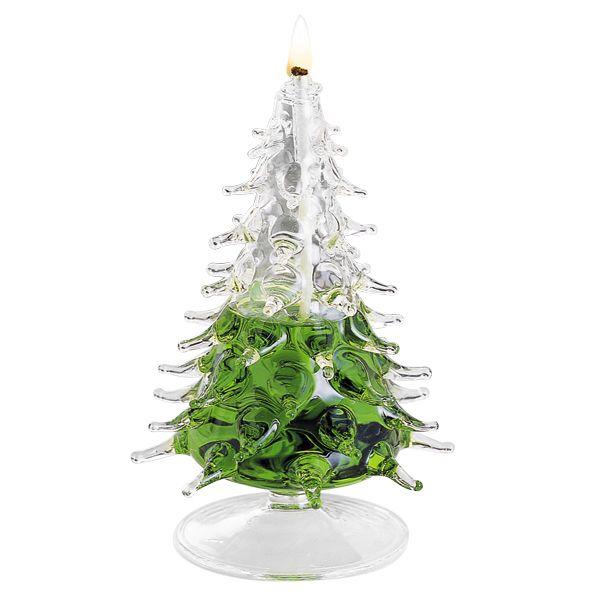 [モミの木ランプ OLB-M016GR] ひと目見て、カワイイと思いました♪ クリスマスという特別な日だから、特別感を味わえる素敵なランプです。