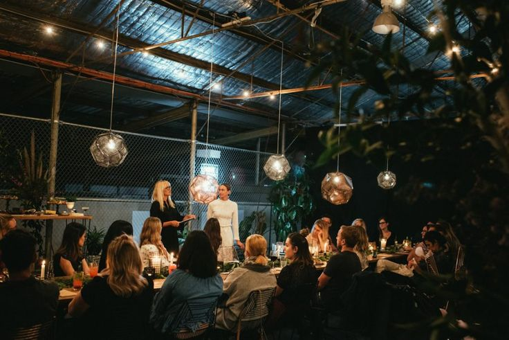wedding industry night at Fremantle warehouse venue Stackwood Hall