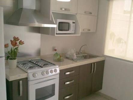 Resultado de imagen para cocinas empotradas para apartamentos
