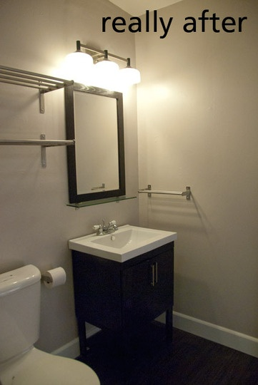 17 best images about bathroom redo on pinterest toilets for Redoing bathroom walls