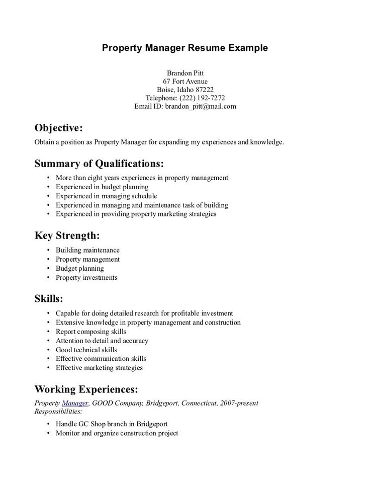 Skill Example For Resume Resume Transferable Skills Examples - sample resume with summary of qualifications