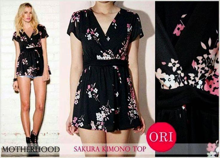 let's shop here : Sakura Kimono Top