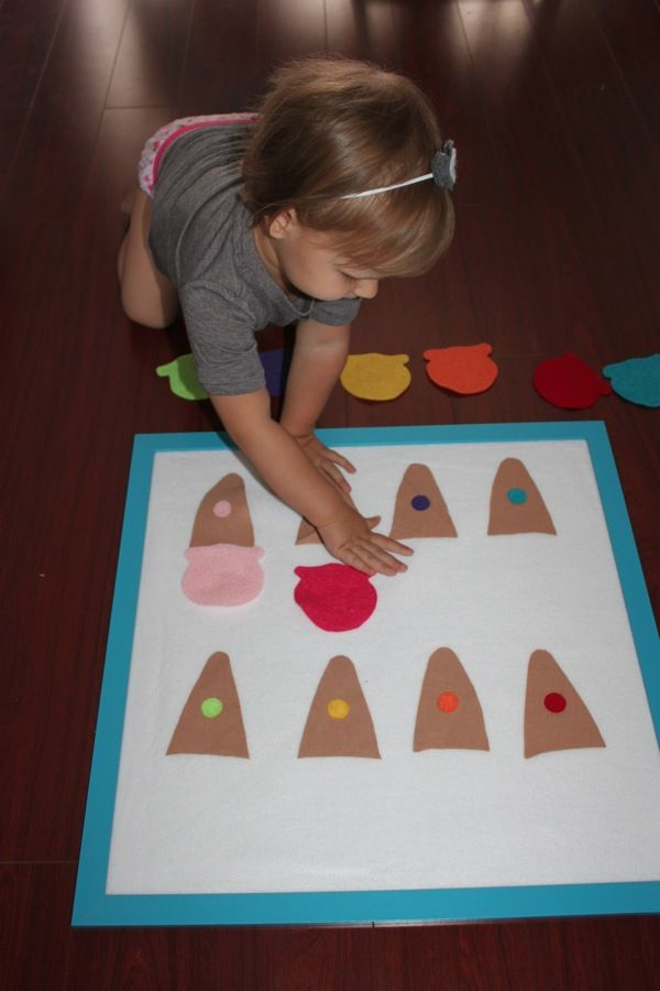 Ice cream Felt Board