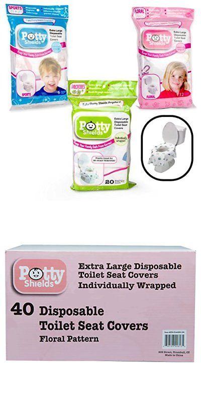 40 Xl Disposable Non Slip Potty Toilet Seat Covers For Children