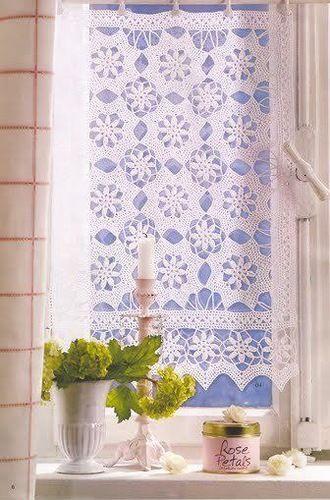 cortinas de punto