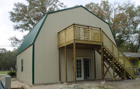 10 best home ideas images on pinterest metal building for Gambrel metal homes