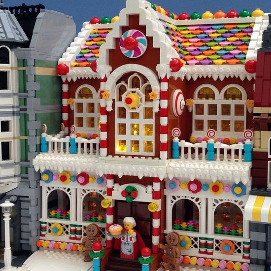 Amazing Lego Christmas decorations