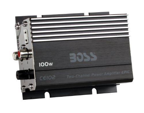BOSS AUDIO CE102 Chaos Epic 100-Watt Full Range, Class A/B 4-8 Ohm Stable 2 Channel Amplifier - http://www.caraccessoriesonlinemarket.com/boss-audio-ce102-chaos-epic-100-watt-full-range-class-ab-4-8-ohm-stable-2-channel-amplifier/  #100Watt, #Amplifier, #AUDIO, #BOSS, #CE102, #Channel, #Chaos, #Class, #Epic, #Full, #Range, #Stable #Car-Amplifiers, #Electronics