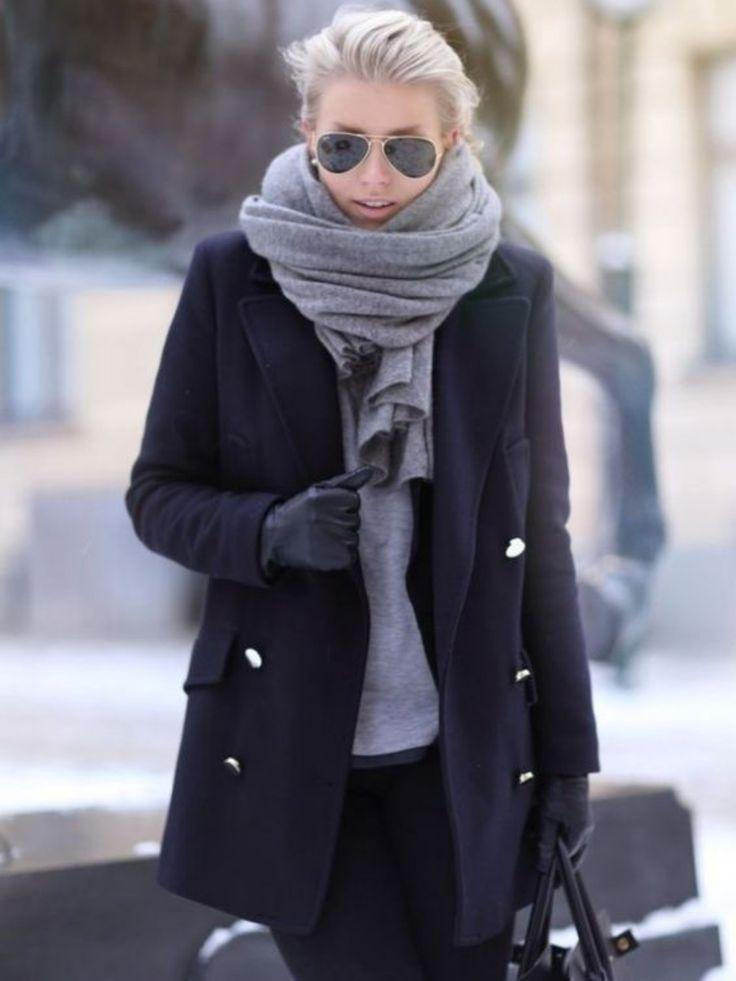 Schal binden - mal ganz anders