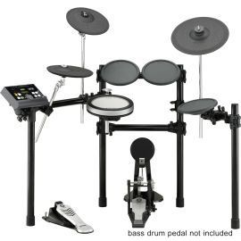 """Brand New Yamaha DTX520K Electronic Drum Kit Set Includes DTX500, DTP520P, DTP520C, RS500 by Yamaha. $899.99. Brand New Yamaha DTX520K Electronic Drum Kit Set Includes DTX500, DTP520P, DTP520C, RS500 Features:     * Bass Drum Pedal: No     * DTX-PAD: Snare     * Snare diameter: 8""""     * 3-zone cymbals: Crash, Ride     * Real Hi-Hat System: No     * Trigger Module: DTX500     * Rack System: RS500     * Pad Set: DTP520P (PAD SET) includes: XP80, TP65 x 3, KP65, DTP520C ..."""