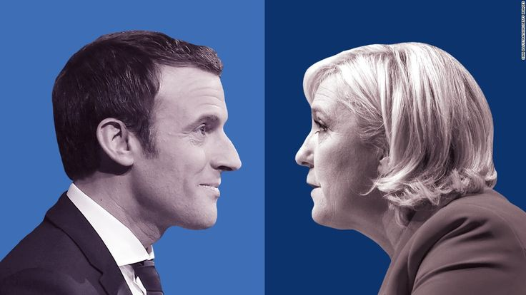 awesome French election frontrunner Macron faces challenges