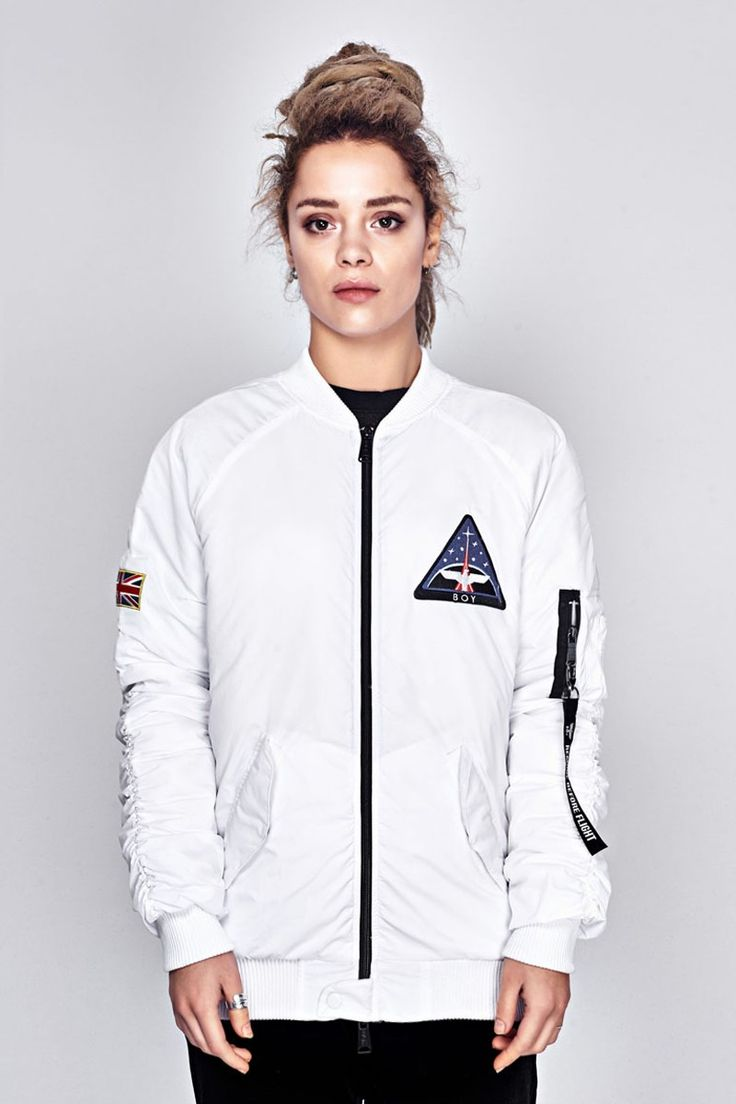 BOY SPACE BOMBER JACKET - WHITE | Clothes | Pinterest | Boys Tops and Bomber jackets