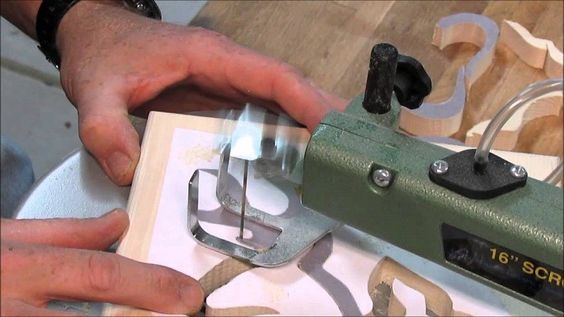 Best scroll saw blades - how to choose the correct blade for the job.