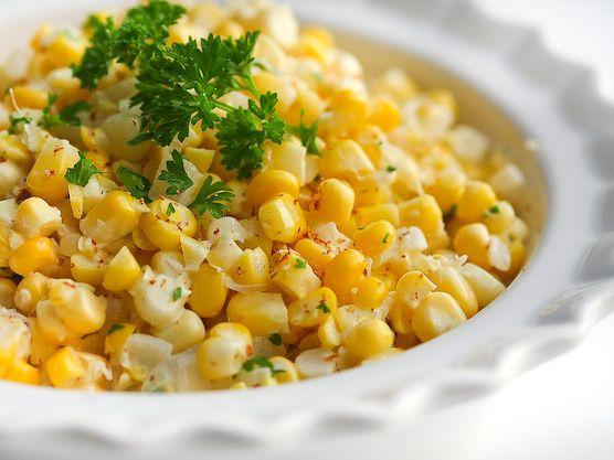 Creme Fraiche Creamed Corn | Recipe