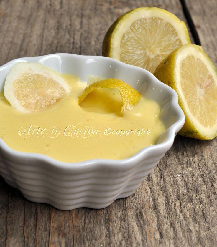 Crema al limone ricetta base arte in cucina   <3