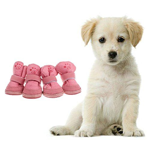 Ukamshop(TM)Cute Fancy Dress up Pet Dog Chihuahua Boots Puppy Shoes For Small Dog (Pink, S) - http://www.sillydogworld.com/dog-boots/ukamshoptmcute-fancy-dress-up-pet-dog-chihuahua-boots-puppy-shoes-for-small-dog-pink-s  Visit http://www.sillydogworld.com to read more on this topic