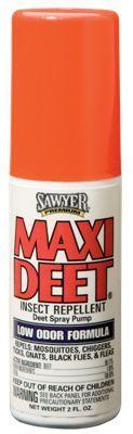 Sawyer MAXI-DEET Low Odor Insect Repellent Spray - 2 oz.