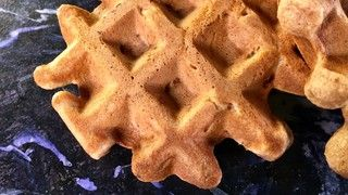 Apple Cinnamon Muffin Waffle Recipe   The Chew - ABC.com