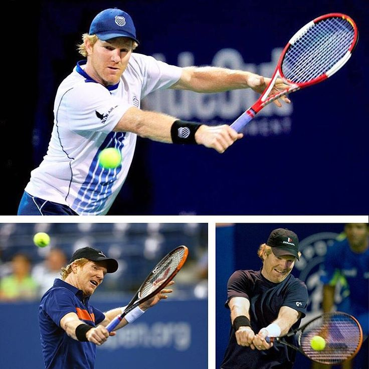 #ThrowbackThursday to Jim Courier former World No. 1 player who won four Grand Slam singles during his career. He holds the record for being the youngest man to have reached the finals of all four Grand Slam singles tournament. #TBT #ustanorcal