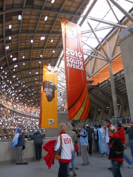 Soccer City, Soweto, JHB, South Africa (2010)