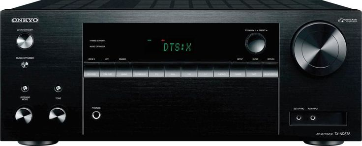 Onkyo - TX 7.2-Ch. Hi-Res Network-Ready 4K Ultra HD and 3D Pass-Through A/V Home Theater Receiver - Black