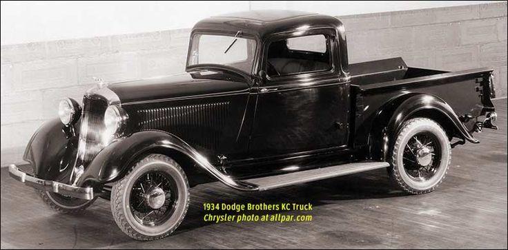 1934 Dodge KC truck