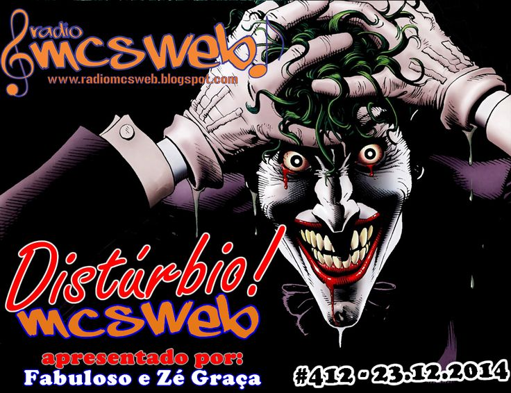 #412 Distúrbio MC's Web http://radiomcsweb.blogspot.com.br/2014/12/412-disturbio-mcs-web-23122014.html