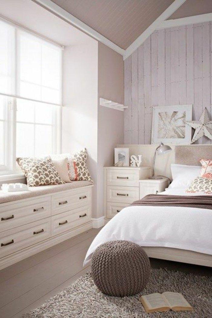 Die besten 25+ Schlafzimmer Einrichtungsideen Ideen auf Pinterest - schlafzimmer ideen wei beige grau
