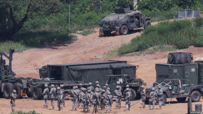 Latihan militer AS-Korsel libatkan 75 ribu tentara