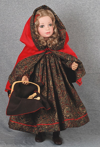 Little red riding hood on black cocks 1 10