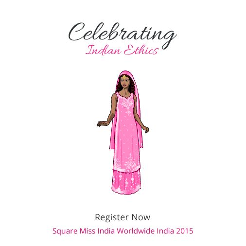 No more Swim Wear or Bikini round. Celebrate the Indian ethnic spirit with Square Miss India Worldwide India.  Register: http://www.squaremissindia.in/