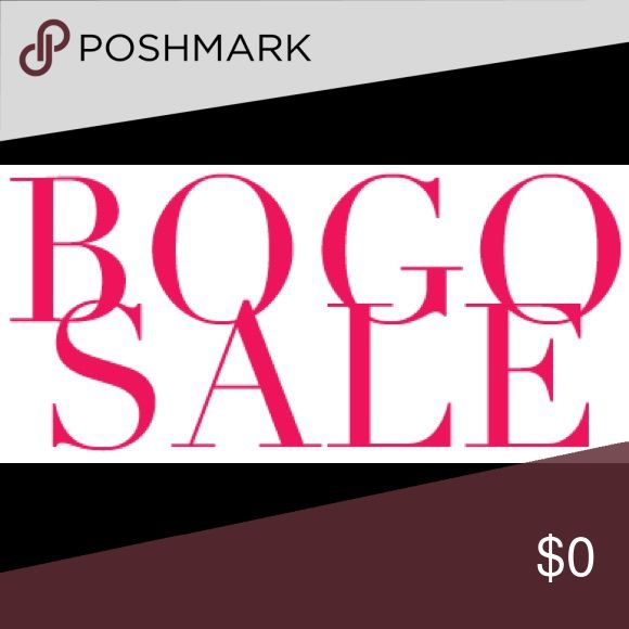 BOGO SALE!!! Trying to clear my closet so you know what that means! BOGO SALE!! Buy any 2 items and get a 3rd item priced at $5 or less for free! I have so many items in my closet listed for $5 so it's really a steal! Just bundle all three items together and offer me $5 less than the total price! Happy poshing!! Other