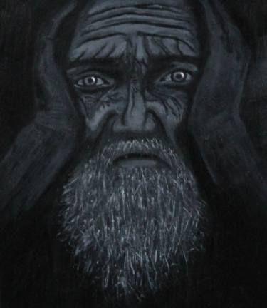 """Saatchi Art Artist Ani Shahverdyan; Painting, """"Pain"""" #art"""