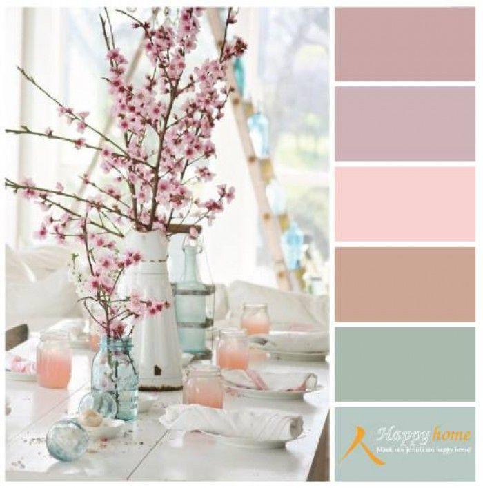 kleurinspiratie van de woonwinkel happy home