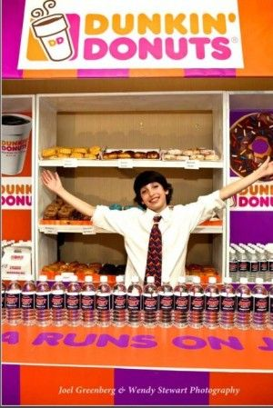 This Bar Mitzvah boy treated everyone to his own Dunkin' Donuts from Pink House Events