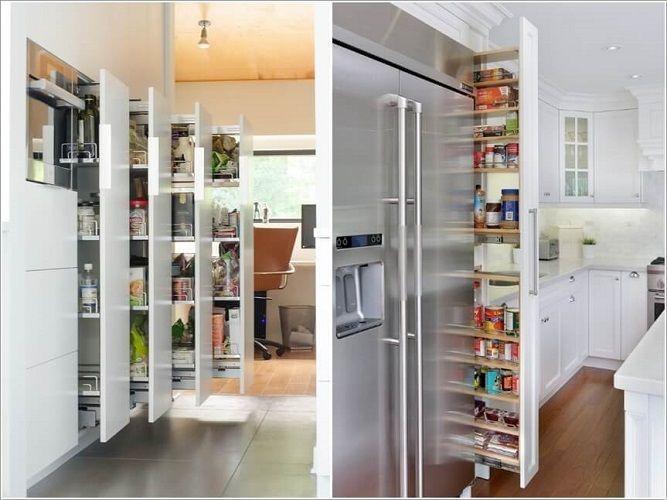 Cum să depozitezi pe verticală: 10 idei ingenioase pentru bucătării mici