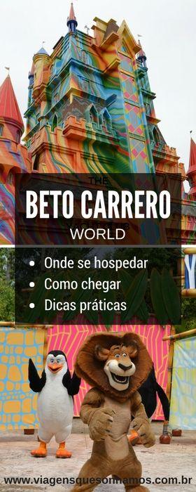 Conheça as melhores dicas para organizar a sua viagem para o Beto Carrero World em Santa Catarina. Dicas das melhores opções d hospedagem, como chegar e dicas práticas para curtir o melhor do parque com crianças.