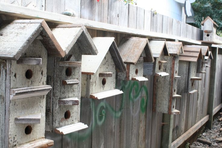 186 best images about barn wood birdhouses on pinterest - Old barn wood bird houses ...