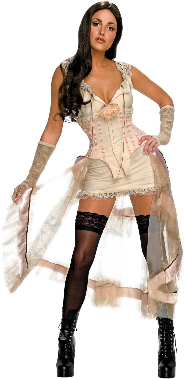 Jonah Hex - Lilah White Look Adult Costume