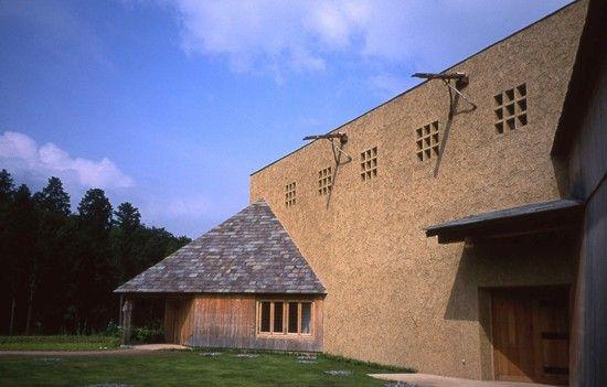 Akino Fuku Museum.  terunobu fujimori