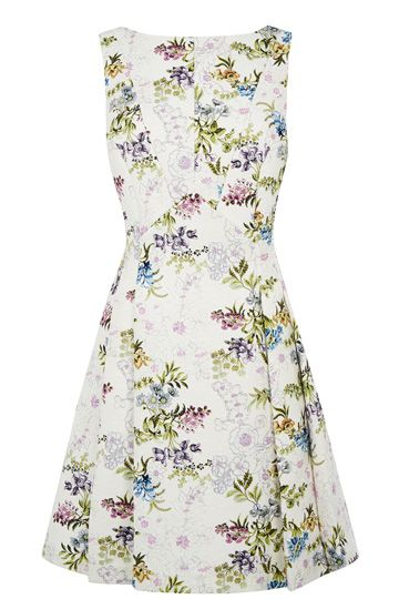 V and A Jubilee Jacquard Dress