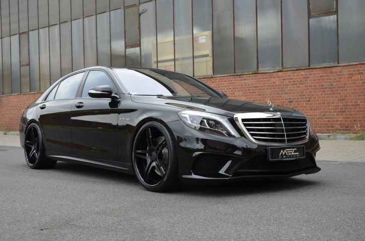MEC Design recently sent to us photos of its customized black-finish Mercedes S63 AMG, which is equipped with the tuner's signature wheels and tyres.