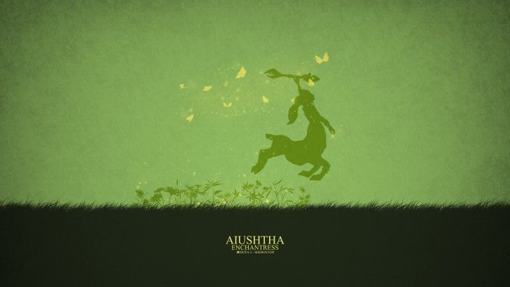 Download Aiushtha the Enchantress Dota 2 Minimalist by Sheron1030 4k 3840x2160