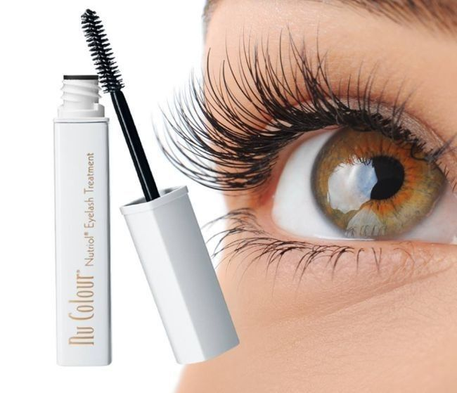 NU COLOUR® NUTRIOL® EYELASH TREATMENT Longer, fuller lashes are just strokes away with Nu Colour Nutriol Eyelash Treatment, a clear eyelash strengthening gel that conditions and protects your lashes against breakage. This powerful conditioning gel, featuring the unique key ingredient Tricalgoxyl®, does not only strengthens your eyelashes, but also maximises its volume and thickness For a luscious look that lasts all day, apply as a primer to boost the special effects of our Nu Colour Curling
