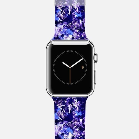 24 best ebi emporium apple watch designs on casetify images on casetify apple watch band case floral fantasy 2 colorful bold girly flowers indigo deep blue periwinkle lilac purple abstract acrylic textural summer sciox Images