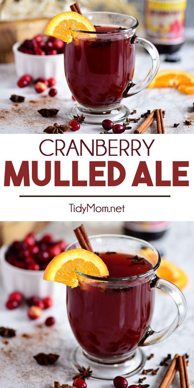 Cranberry Mulled Ale Recipe Mulled Ale Ale Recipe Recipes