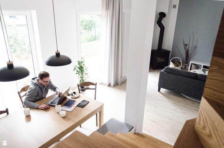Schody styl Skandynawski - zdjęcie od Studio Malina – Architekci & Projektanci wnętrz - Schody - Styl Skandynawski - Studio Malina – Architekci & Projektanci wnętrz