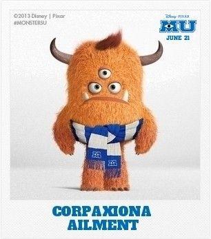 Buenos días, como ven nuestro Monstruo Corpaxiona, gracias a una app de #MONSTERSUNIVERSITY la pudimos obtener, ¿Quieren una?  http://disney.go.com/monsters-university/create-a-monster/#customize/type
