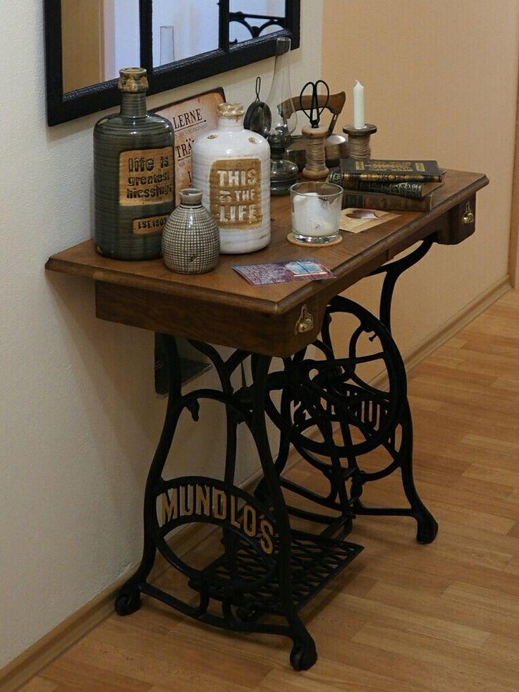 21 besten alte n hmaschine bilder auf pinterest alte n hmaschinen n hmaschinen und. Black Bedroom Furniture Sets. Home Design Ideas