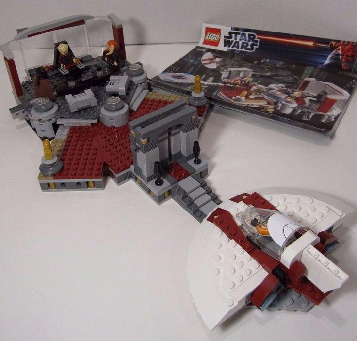 Lego 9526 Star Wars Palpatine's Arrest Jedi Council Rare Minifigures Booklet #Lego